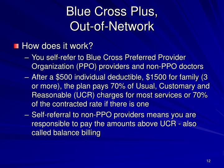 Blue Cross Plus,
