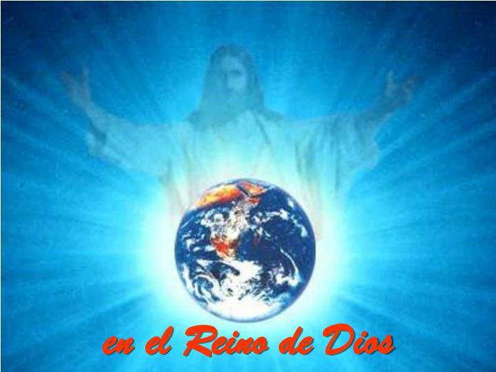en el Reino de Dios
