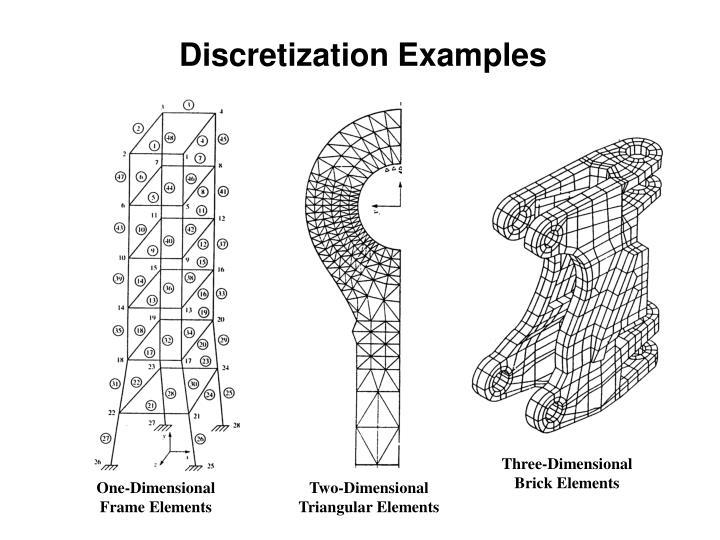 Discretization Examples