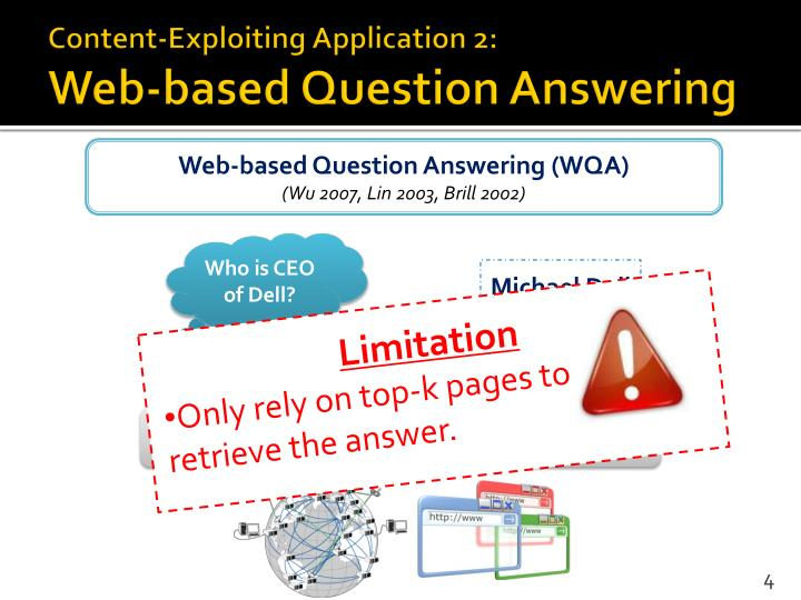Content-Exploiting Application 2: