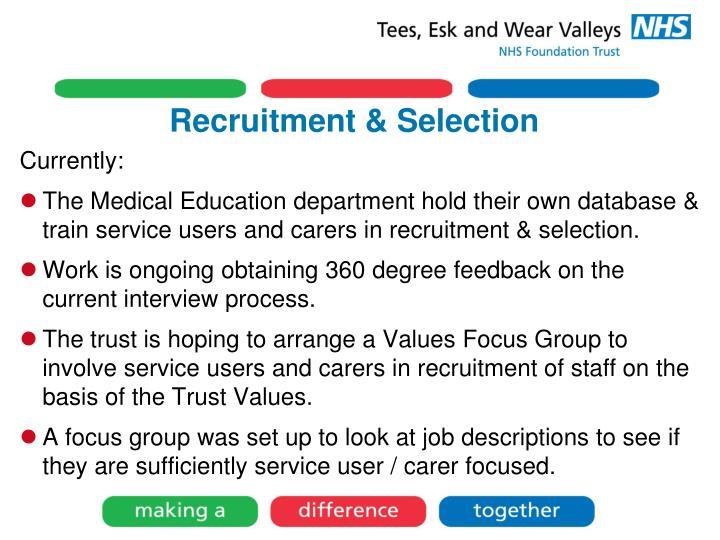 Recruitment & Selection
