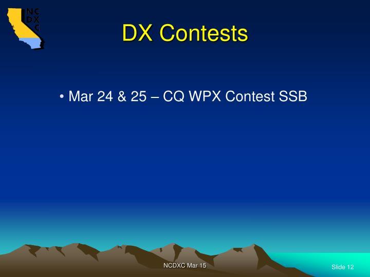 DX Contests