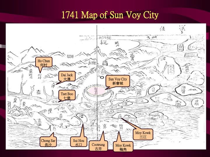 1741 Map of Sun