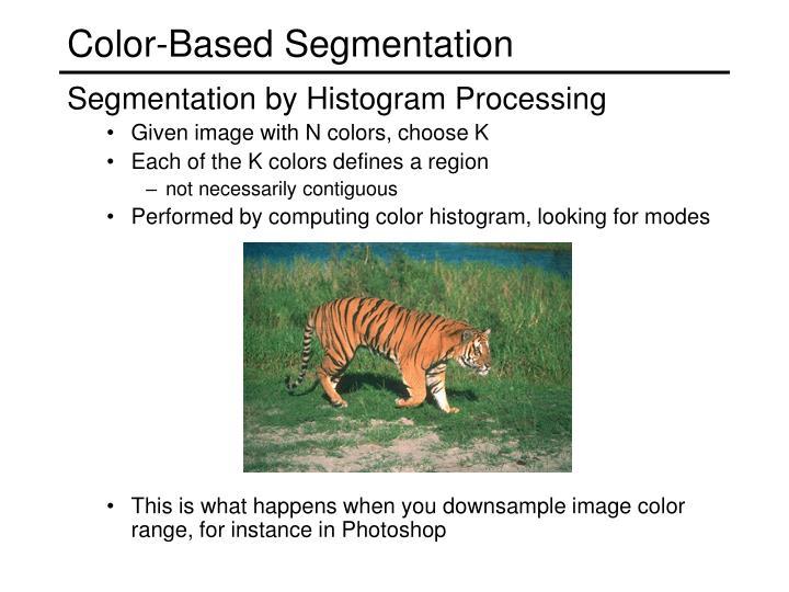 Color-Based Segmentation