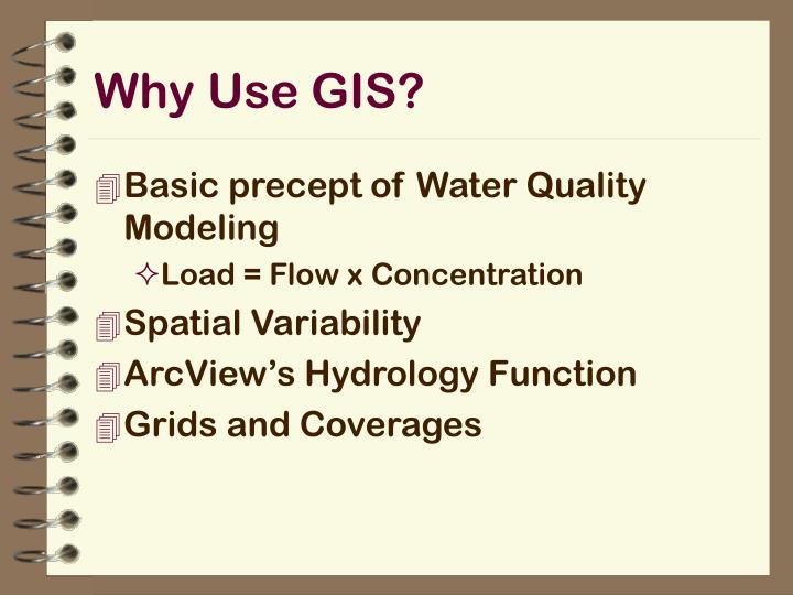 Why Use GIS?
