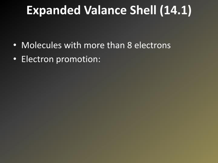 Expanded Valance Shell (14.1)