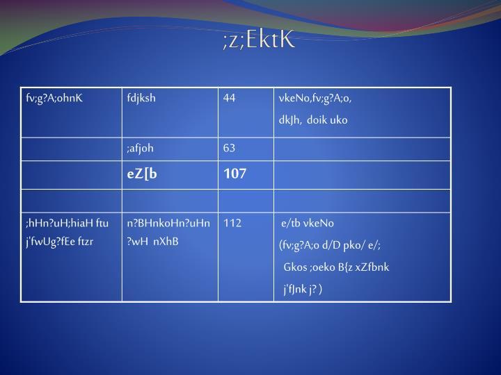 ;z;EktK