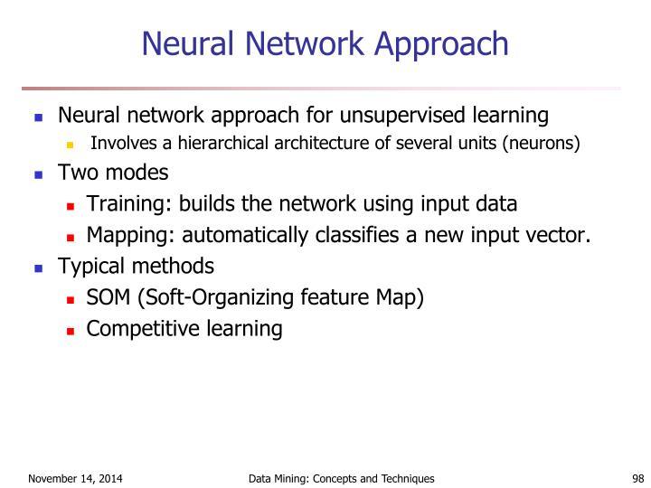 Neural Network Approach