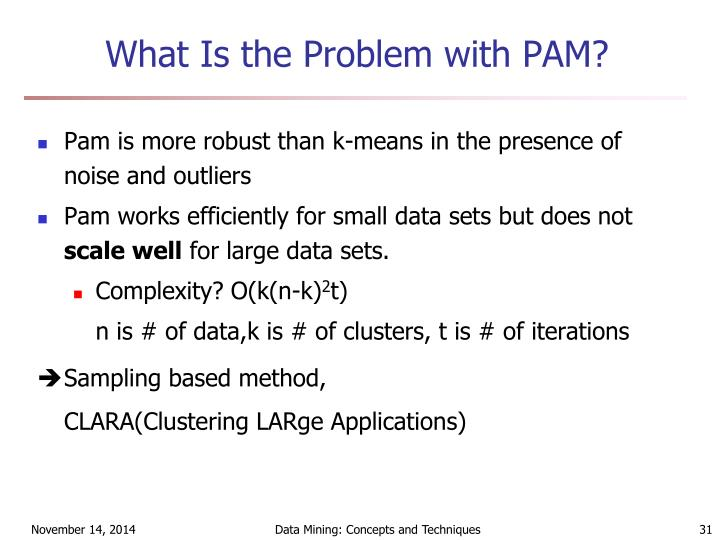 What Is the Problem with PAM?