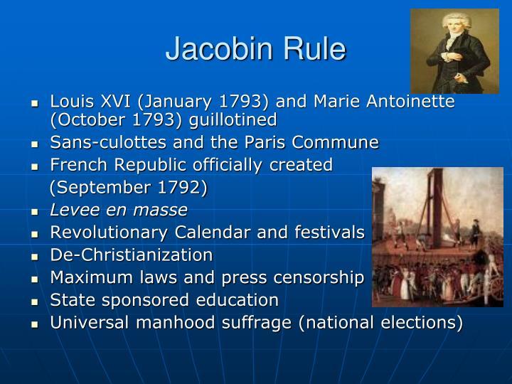 Jacobin Rule