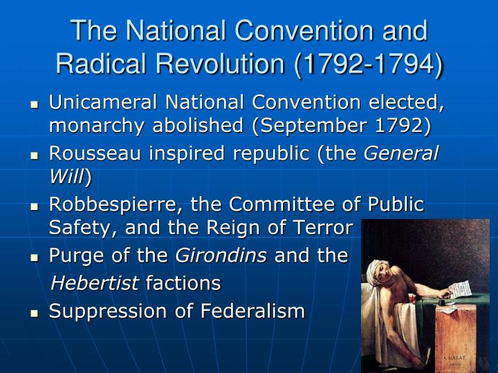 The National Convention and Radical Revolution (1792-1794)