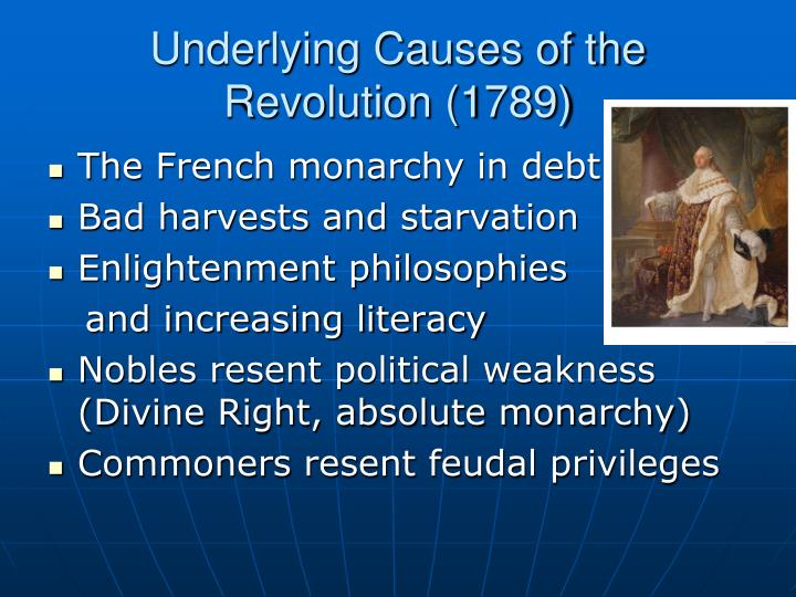Underlying Causes of the Revolution (1789)