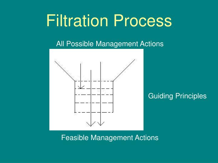 Filtration Process