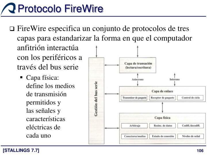Protocolo FireWire