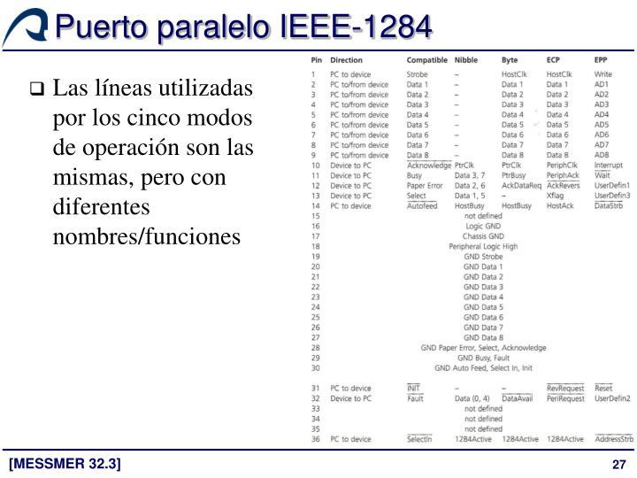 Puerto paralelo IEEE-1284