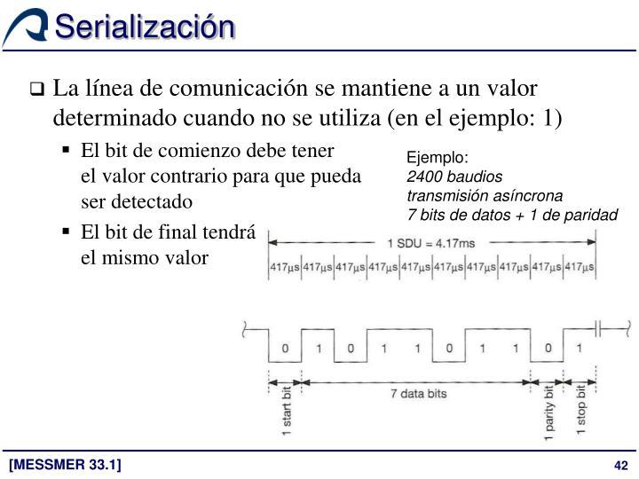 Serialización