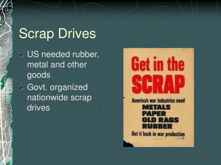 Scrap Drives
