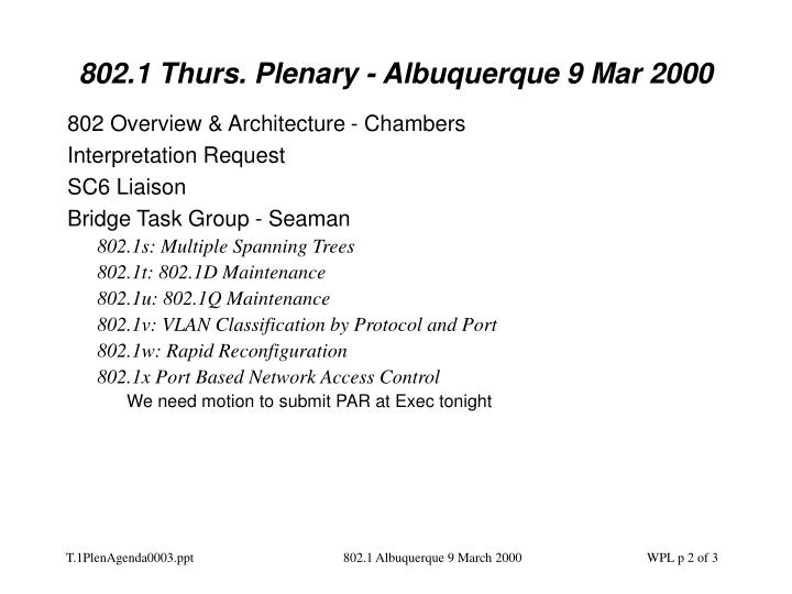 802 1 thurs plenary albuquerque 9 mar 20001