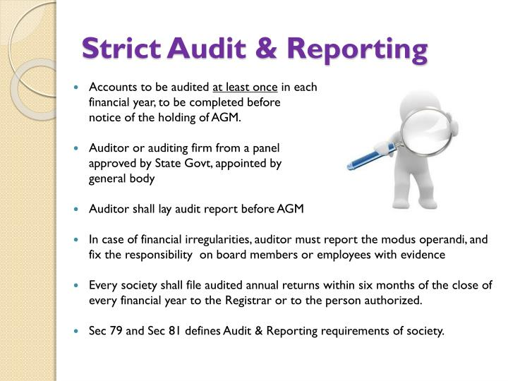 Strict Audit & Reporting