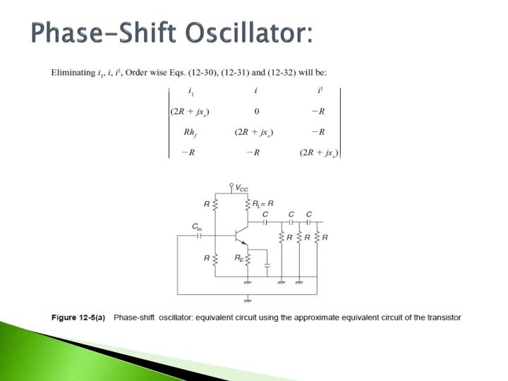 Phase-Shift Oscillator: