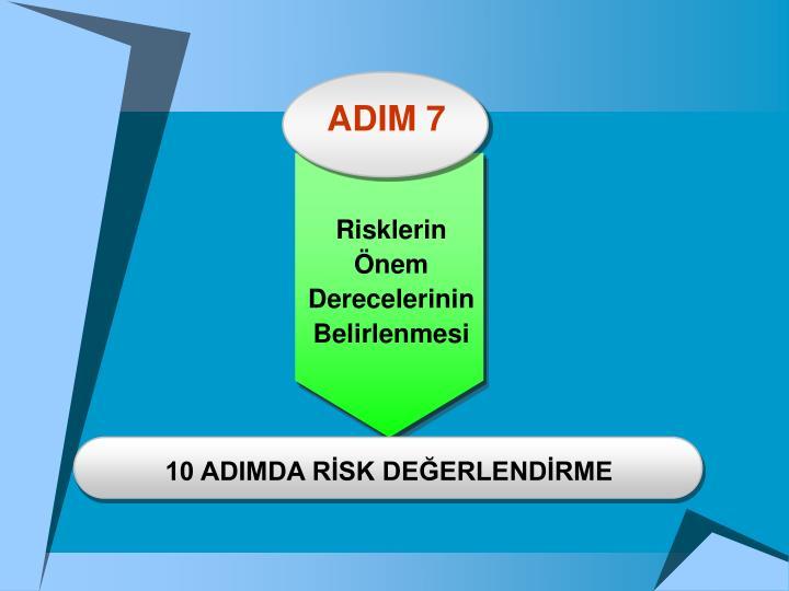 ADIM 7