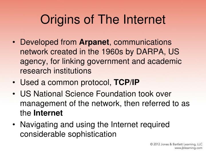 Origins of The Internet