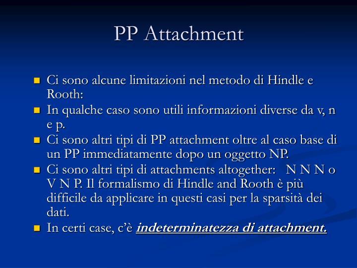 PP Attachment