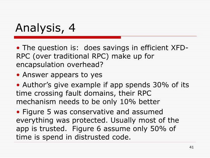Analysis, 4