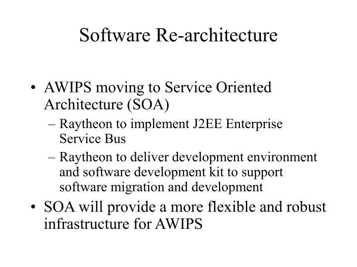 Software Re-architecture