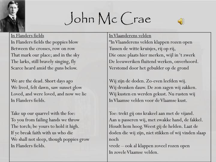 John Mc Crae