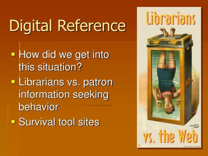 Digital Reference
