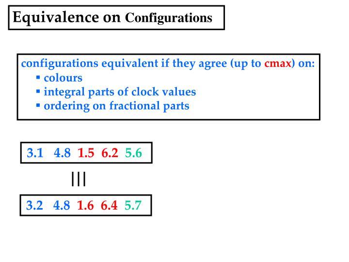 Equivalence on