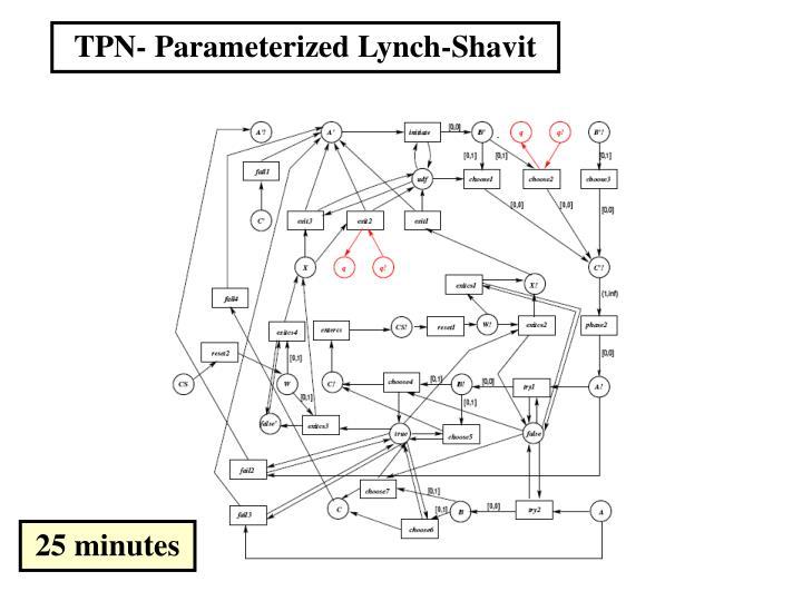 TPN- Parameterized Lynch-Shavit