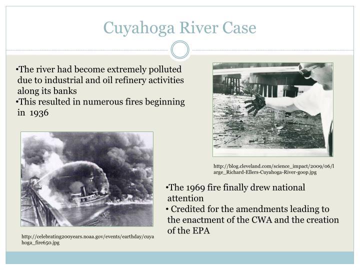 Cuyahoga River Case