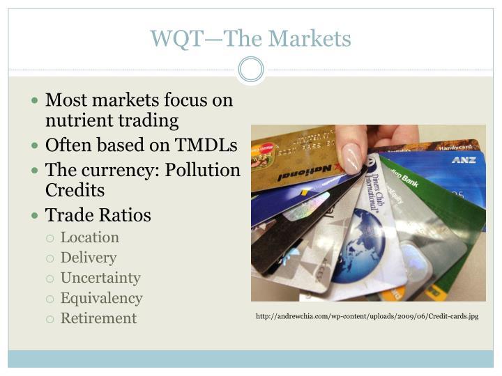WQT—The Markets