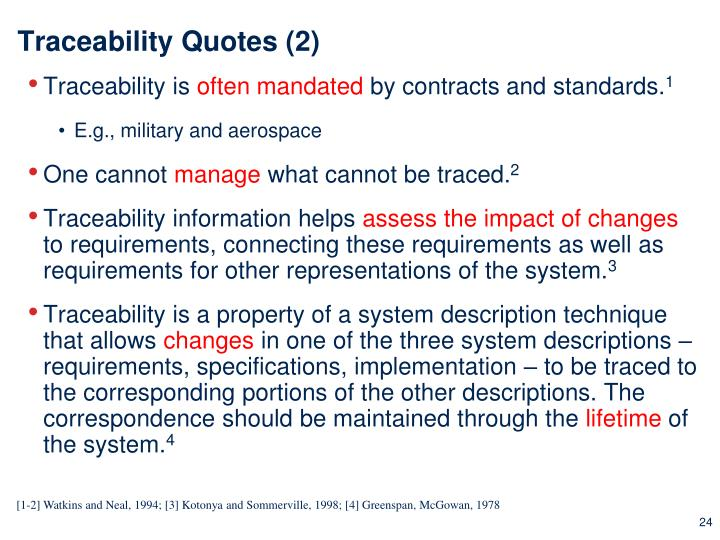 Traceability Quotes (2)
