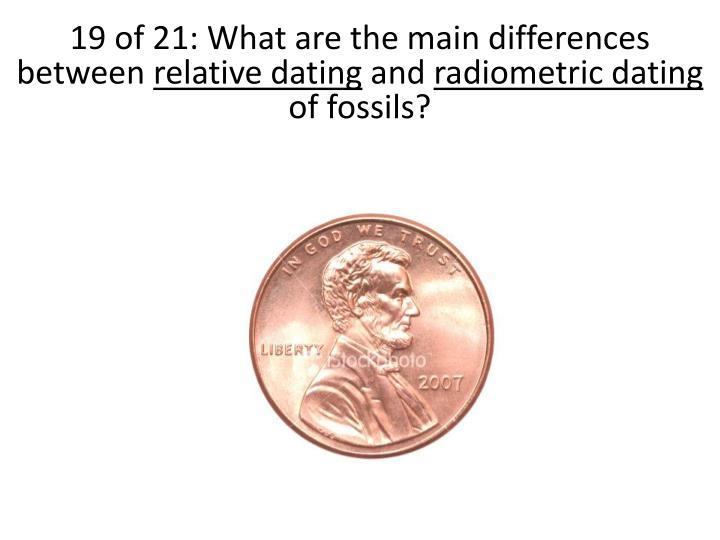 19 of 21: What are the main differences between