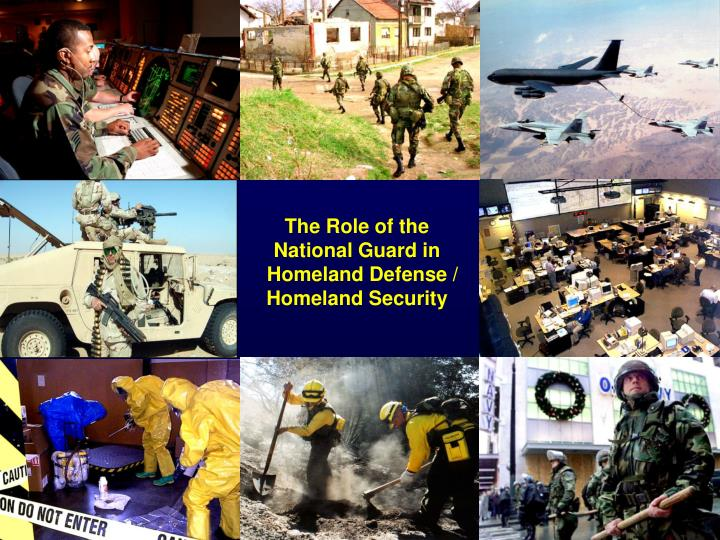 The Role of the National Guard in