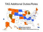 tag additional duties roles