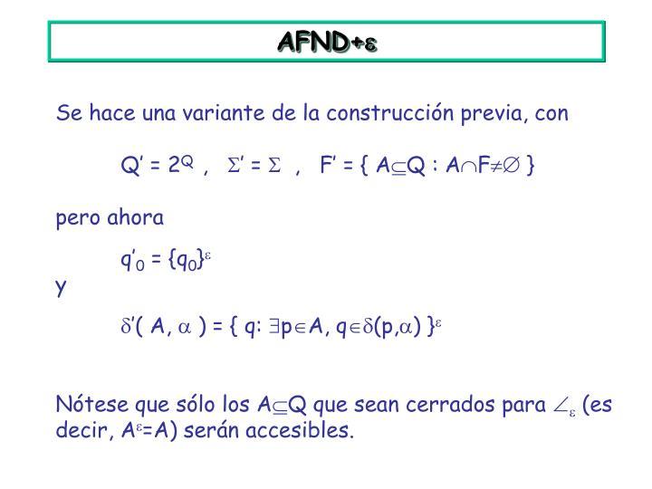 AFND+