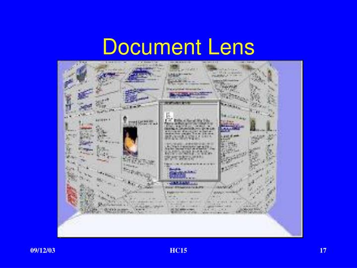 Document Lens