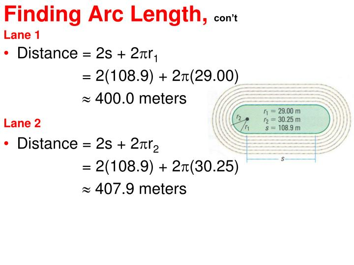 Distance = 2s + 2