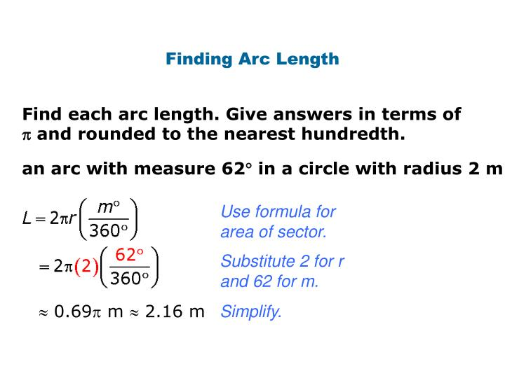 Finding Arc Length
