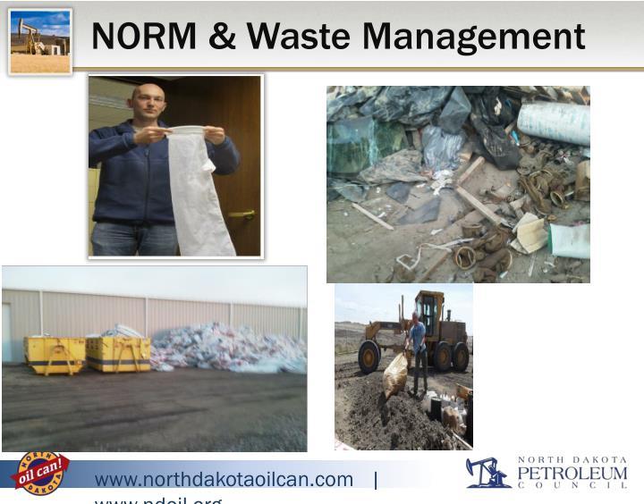 NORM & Waste Management