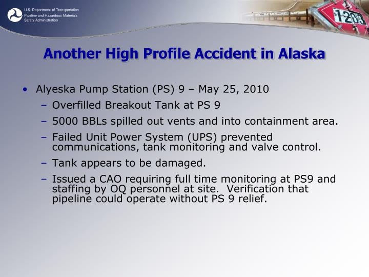 Another High Profile Accident in Alaska