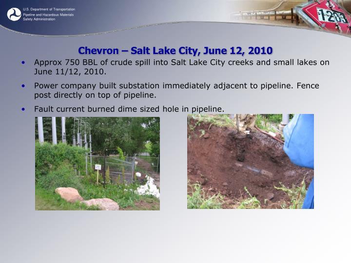 Chevron – Salt Lake City, June 12, 2010