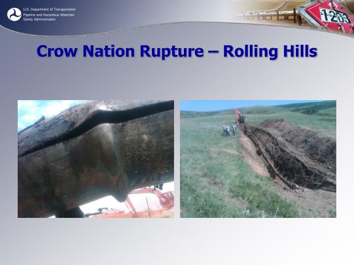Crow Nation Rupture – Rolling Hills