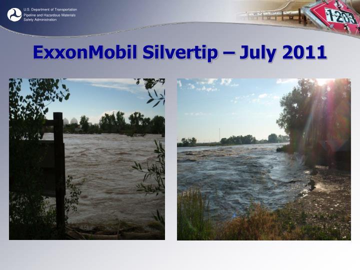 ExxonMobil Silvertip – July 2011