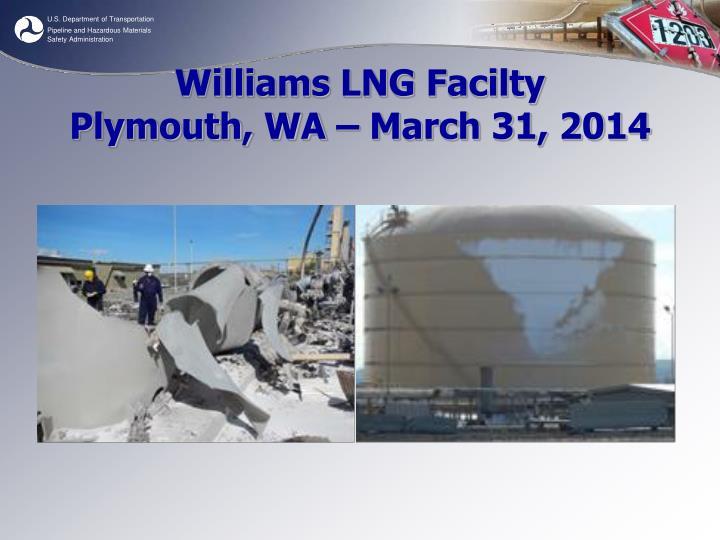 Williams LNG