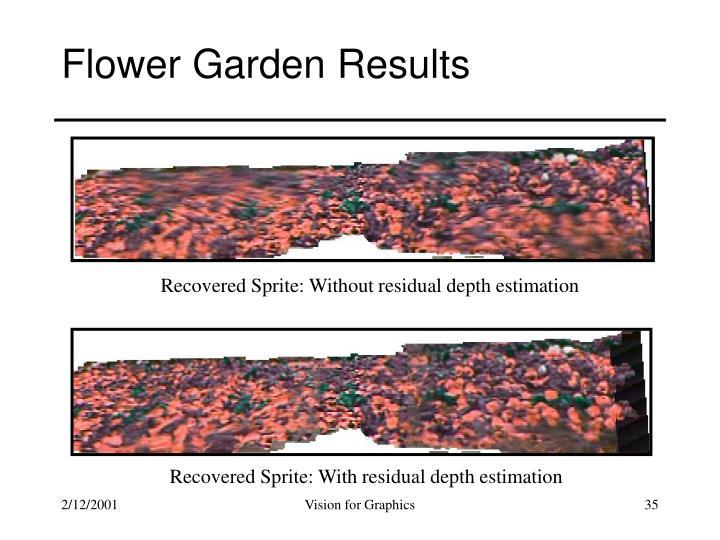 Flower Garden Results